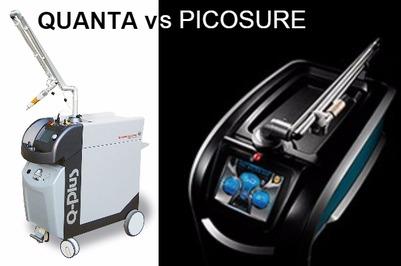 Laser tattoo removal: Quanta Q Plus C vs PicoSure